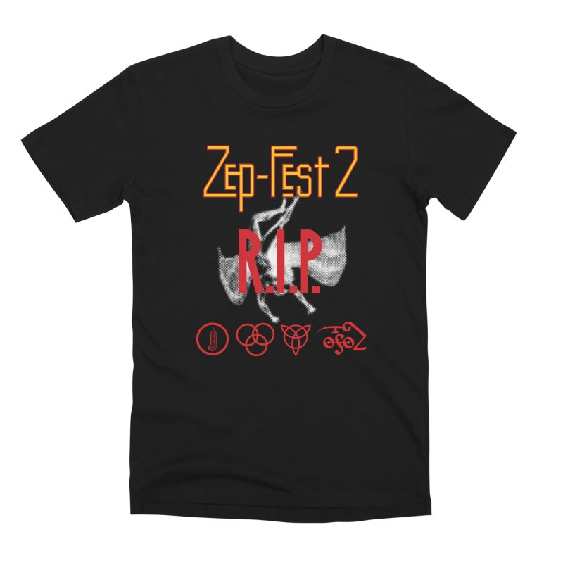 Zep-Fest2 RIP Friends Only Men's Premium T-Shirt by upso's Artist Shop