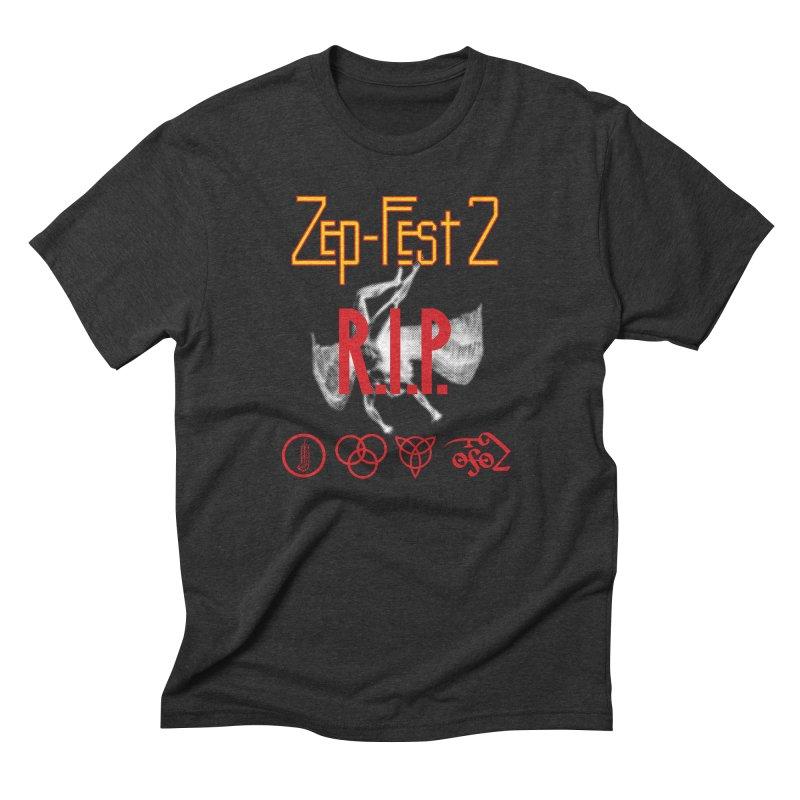 Zep-Fest2 RIP Friends Only Men's Triblend T-Shirt by upso's Artist Shop