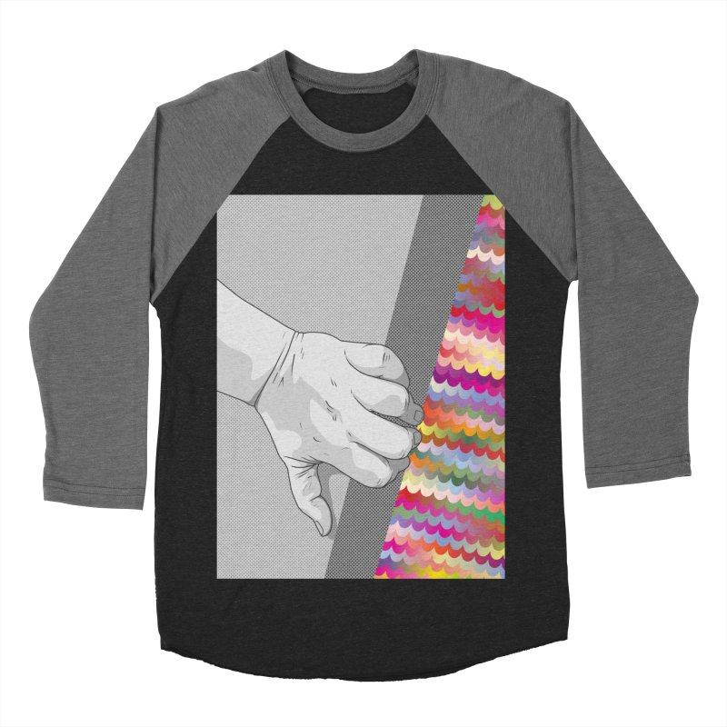 let me out of here Women's Baseball Triblend Longsleeve T-Shirt by upso's Artist Shop