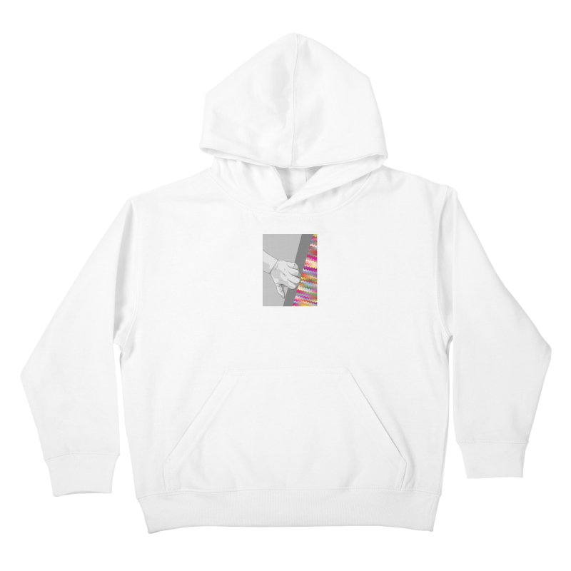 let me out of here Kids Pullover Hoody by upso's Artist Shop