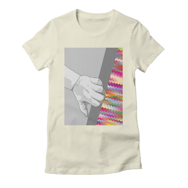 let me out of here Women's Fitted T-Shirt by upso's Artist Shop