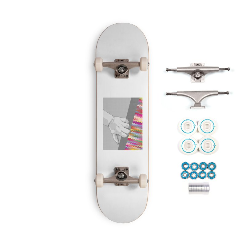 let me out of here Accessories Complete - Basic Skateboard by upso's Artist Shop