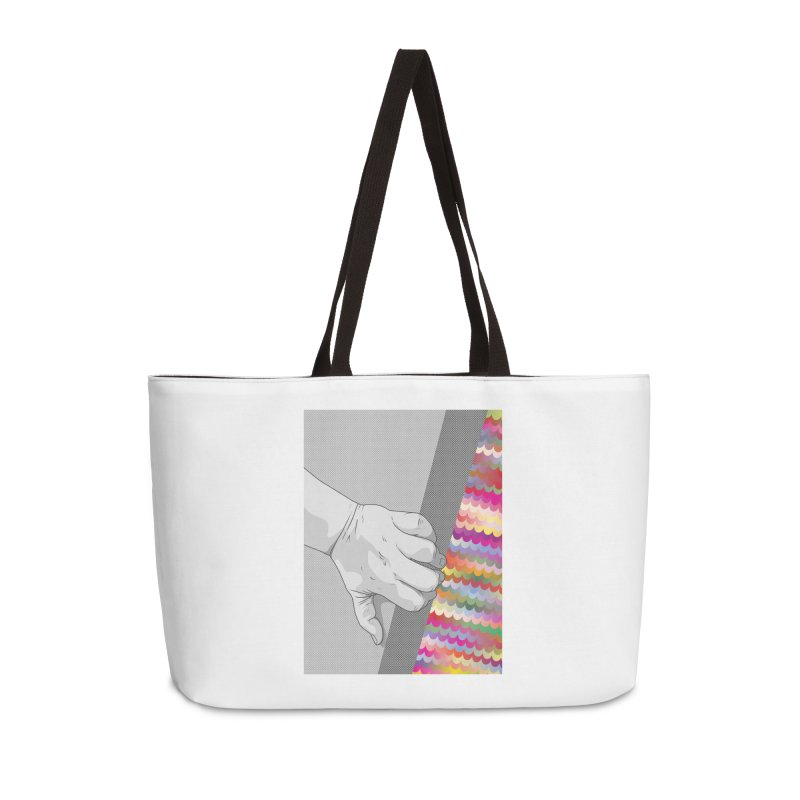 let me out of here Accessories Weekender Bag Bag by upso's Artist Shop