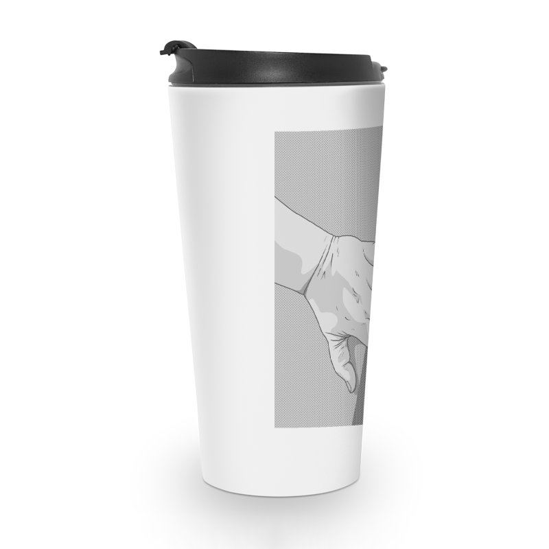 let me out of here Accessories Travel Mug by upso's Artist Shop