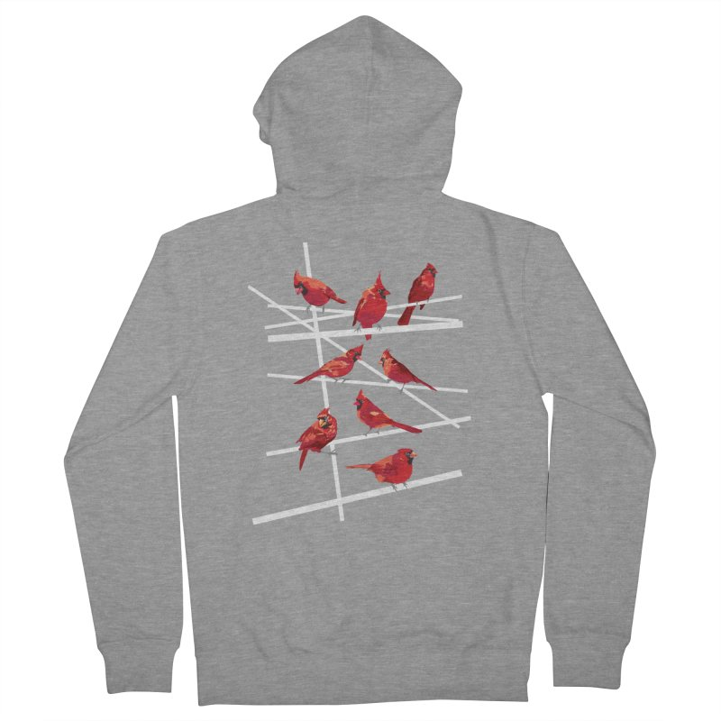 cardinal collection #1 Women's Zip-Up Hoody by upso's Artist Shop
