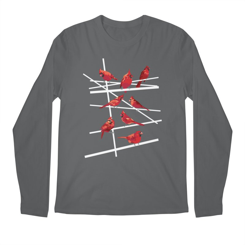 cardinal collection #1 Men's Longsleeve T-Shirt by upso's Artist Shop