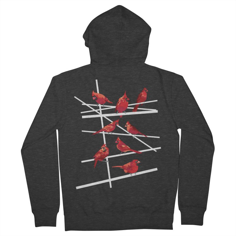 cardinal collection #1 Women's French Terry Zip-Up Hoody by upso's Artist Shop