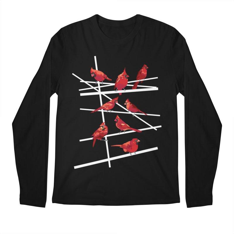 cardinal collection #1 Men's Regular Longsleeve T-Shirt by upso's Artist Shop