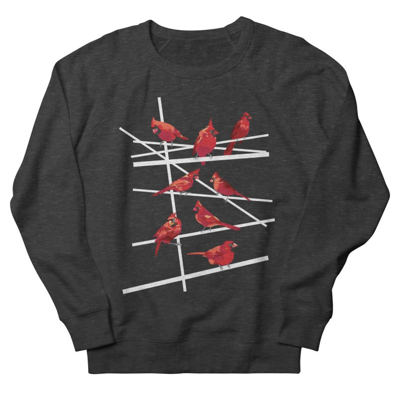 cardinal collection #1 Women's French Terry Sweatshirt by upso's Artist Shop