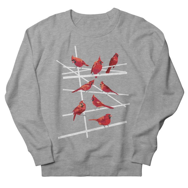 cardinal collection #1 Men's French Terry Sweatshirt by upso's Artist Shop