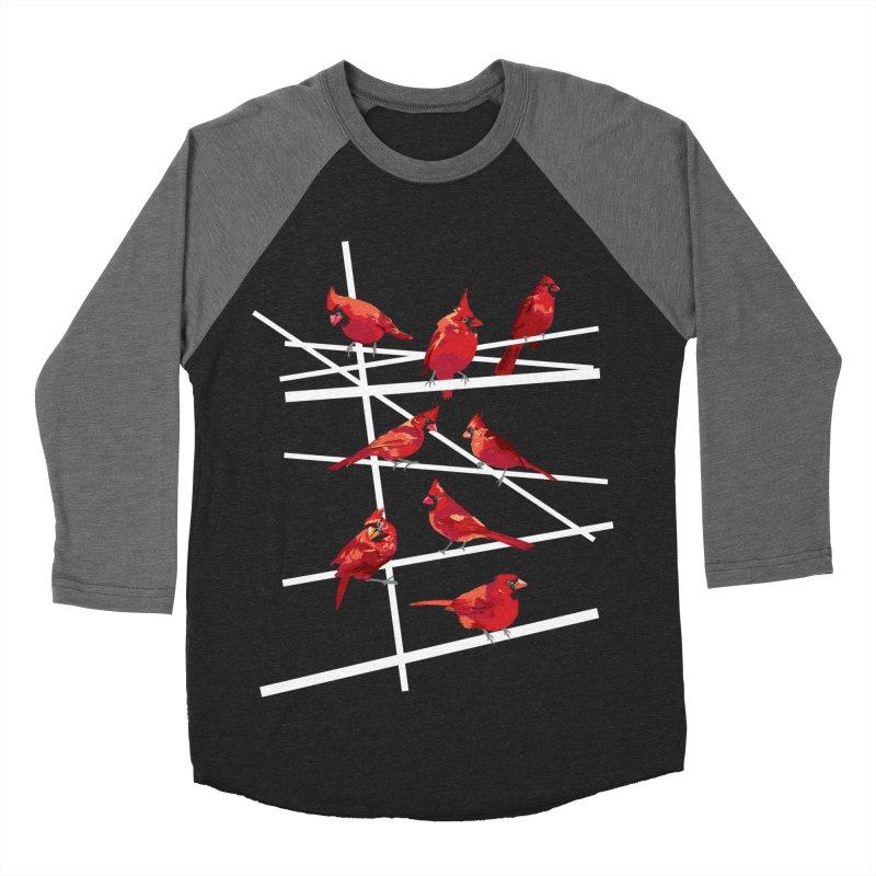 cardinal collection #1 Men's Baseball Triblend T-Shirt by upso's Artist Shop