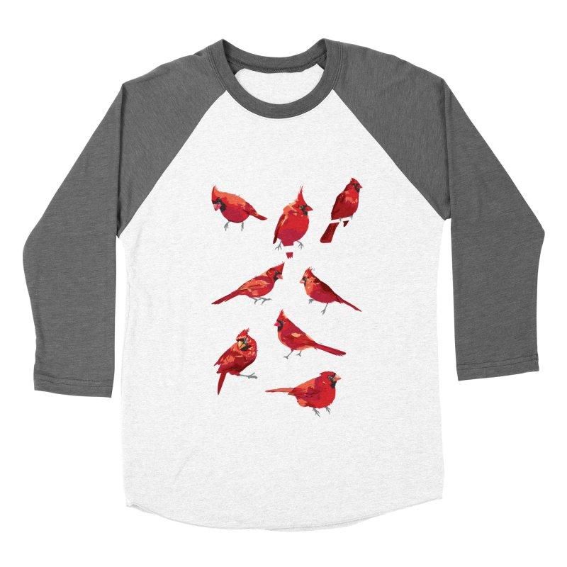 cardinal collection #1 Men's Baseball Triblend Longsleeve T-Shirt by upso's Artist Shop