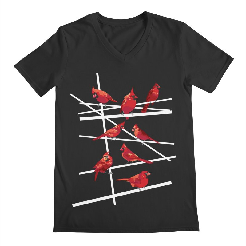 cardinal collection #1 Men's Regular V-Neck by upso's Artist Shop