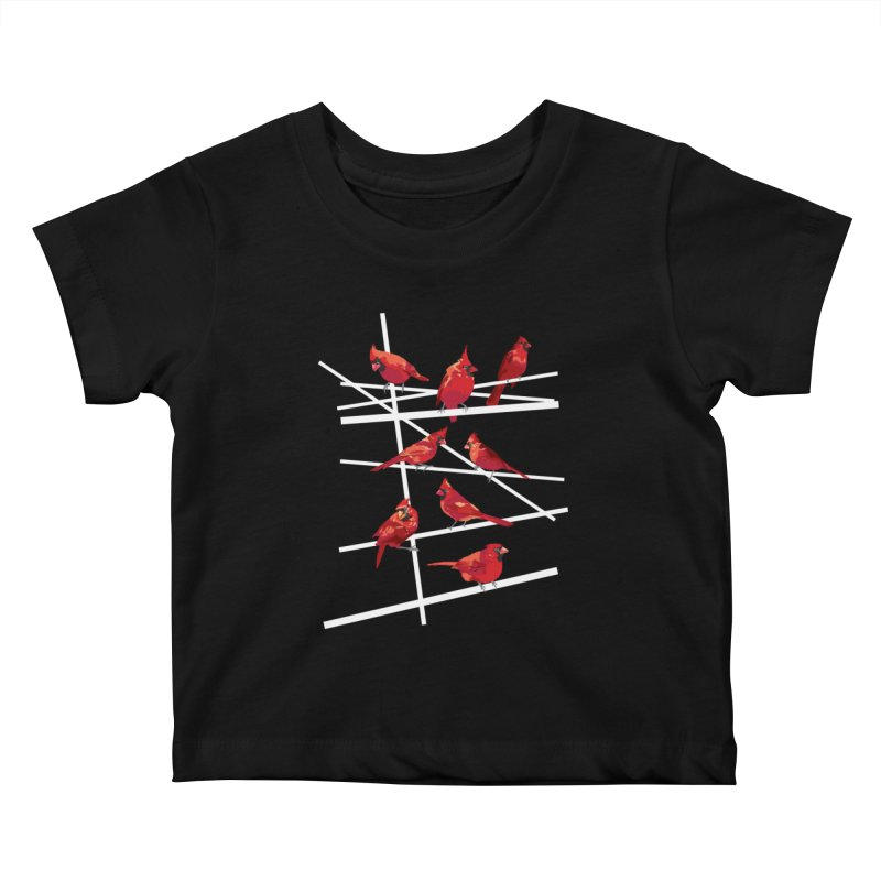 cardinal collection #1 Kids Baby T-Shirt by upso's Artist Shop
