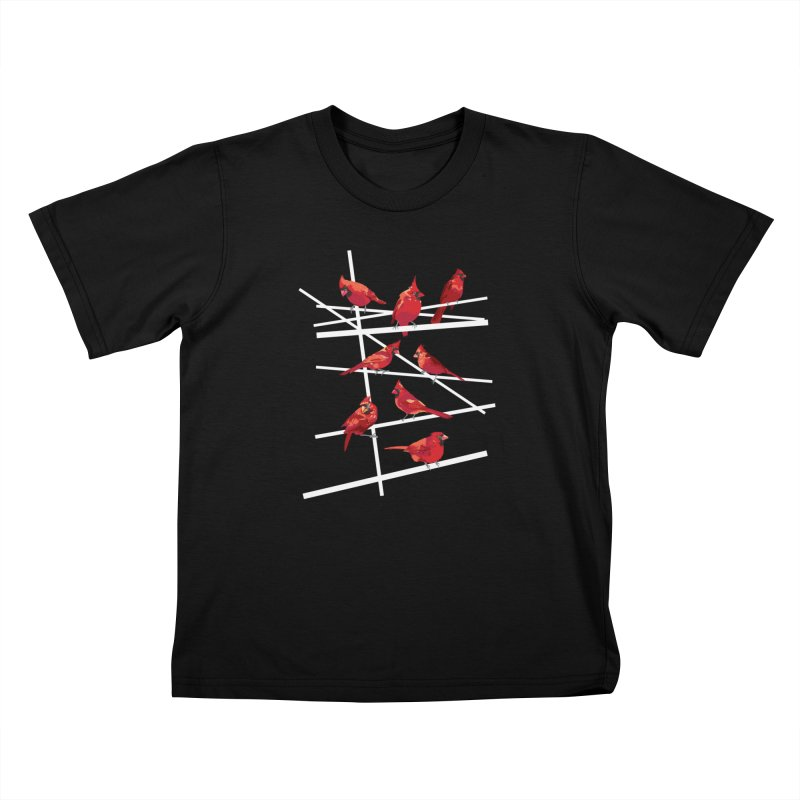 cardinal collection #1 Kids T-Shirt by upso's Artist Shop