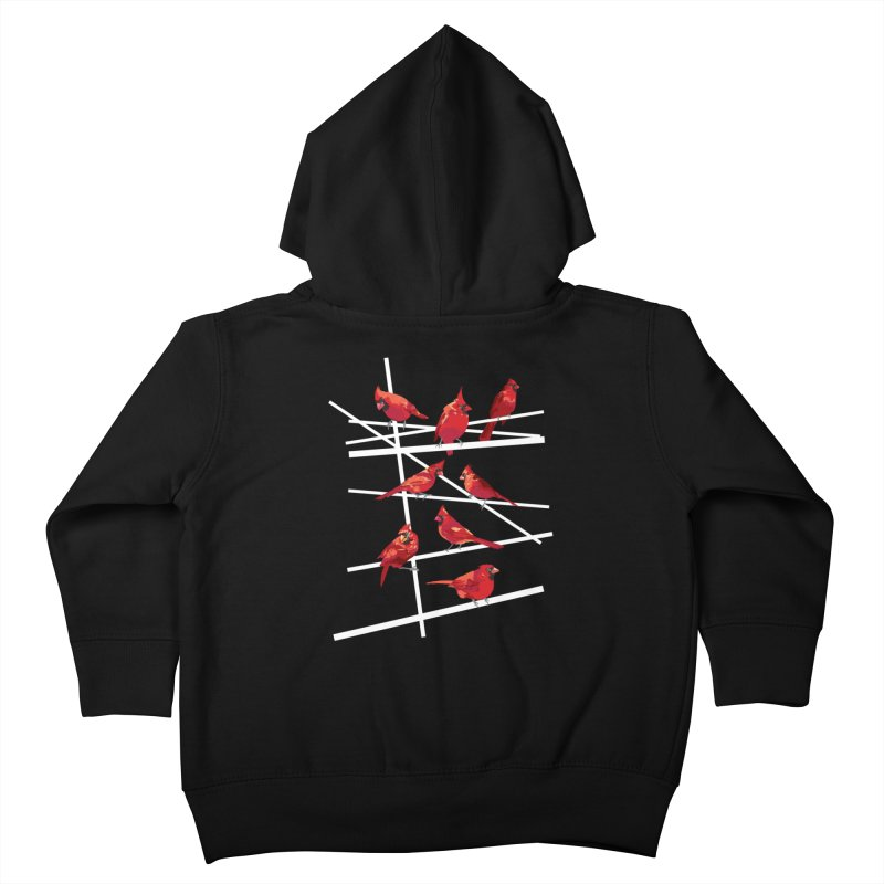 cardinal collection #1 Kids Toddler Zip-Up Hoody by upso's Artist Shop