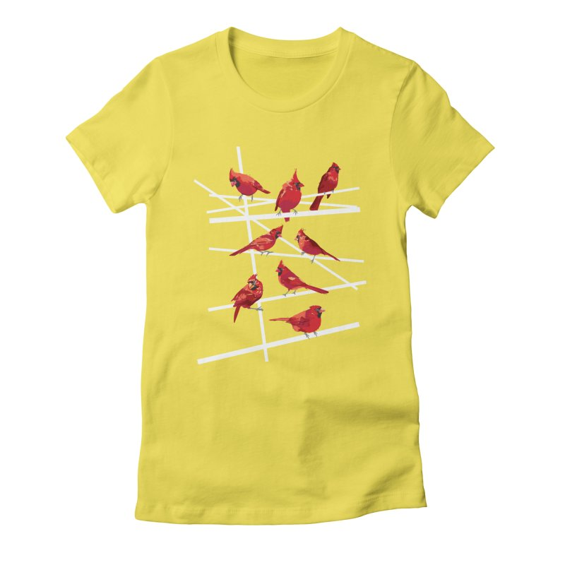 cardinal collection #1 Women's T-Shirt by upso's Artist Shop