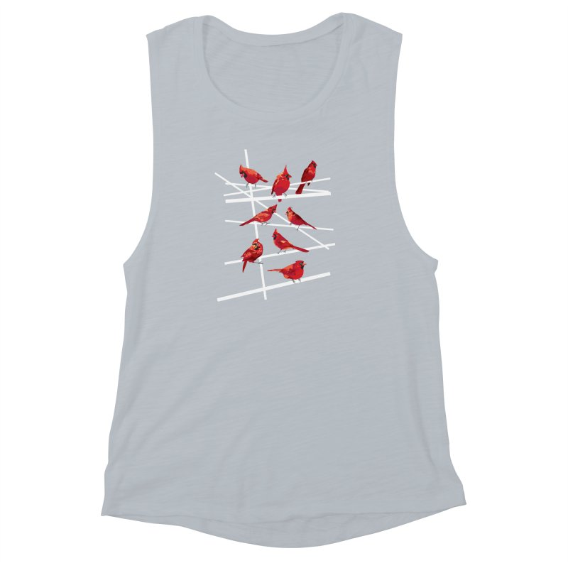 cardinal collection #1 Women's Muscle Tank by upso's Artist Shop