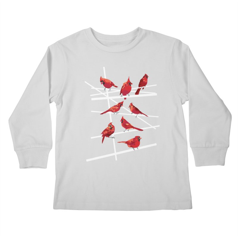 cardinal collection #1 Kids Longsleeve T-Shirt by upso's Artist Shop