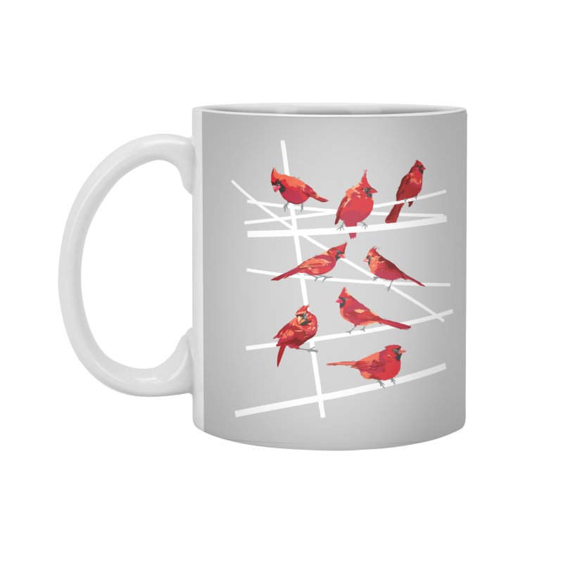 cardinal collection #1 Accessories Standard Mug by upso's Artist Shop