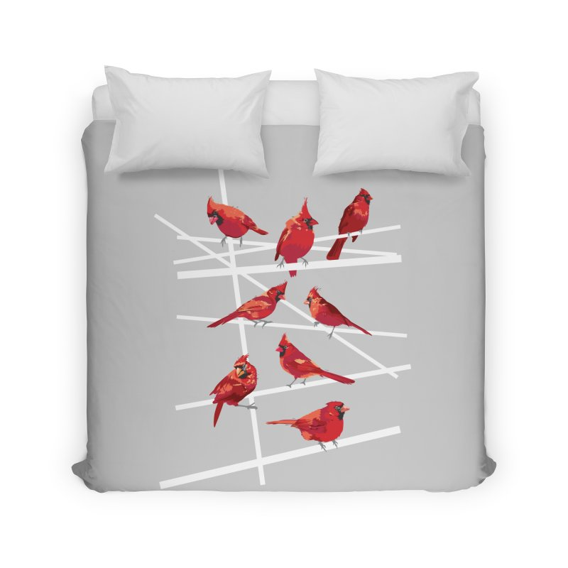 cardinal collection #1 Home Duvet by upso's Artist Shop
