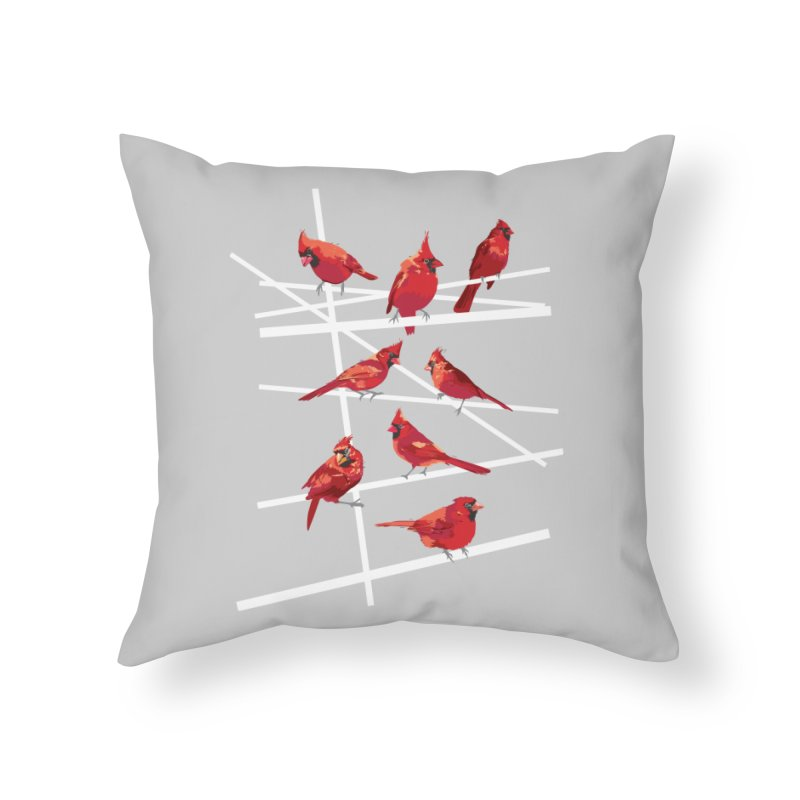 cardinal collection #1 Home Throw Pillow by upso's Artist Shop