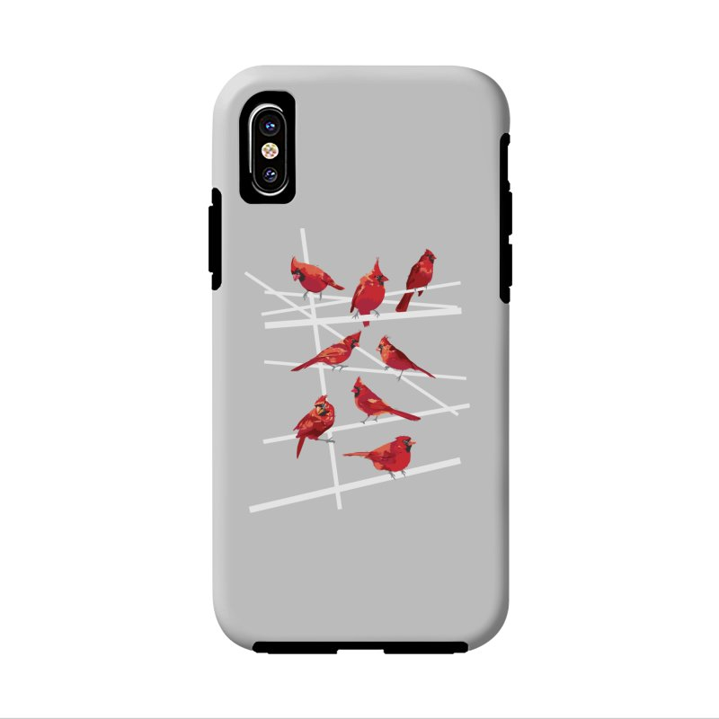 cardinal collection #1 Accessories Phone Case by upso's Artist Shop