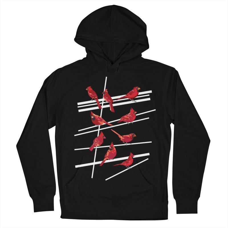 even more cardinals Women's French Terry Pullover Hoody by upso's Artist Shop