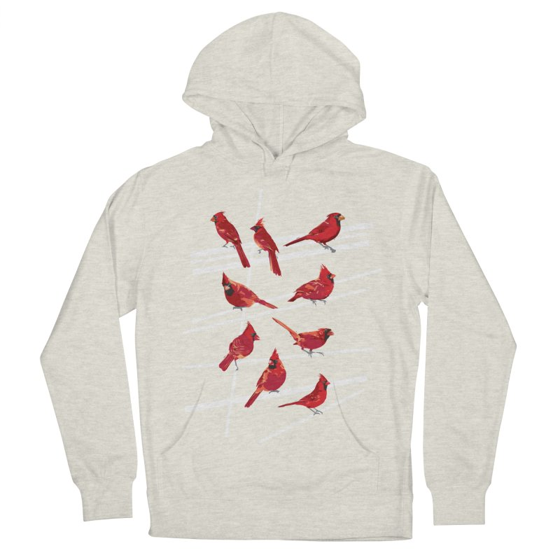 even more cardinals Men's French Terry Pullover Hoody by upso's Artist Shop