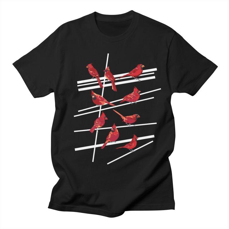 even more cardinals Women's Regular Unisex T-Shirt by upso's Artist Shop