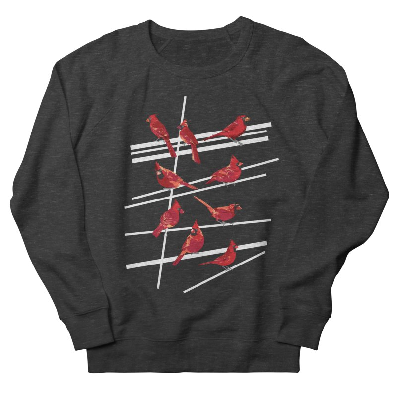 even more cardinals Women's French Terry Sweatshirt by upso's Artist Shop