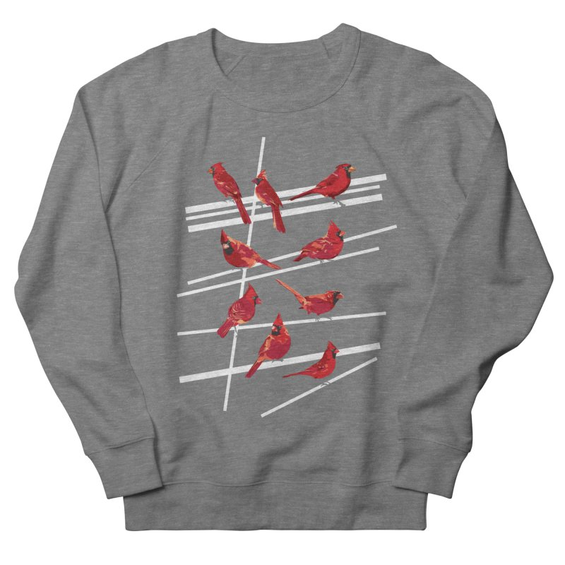 even more cardinals Men's French Terry Sweatshirt by upso's Artist Shop