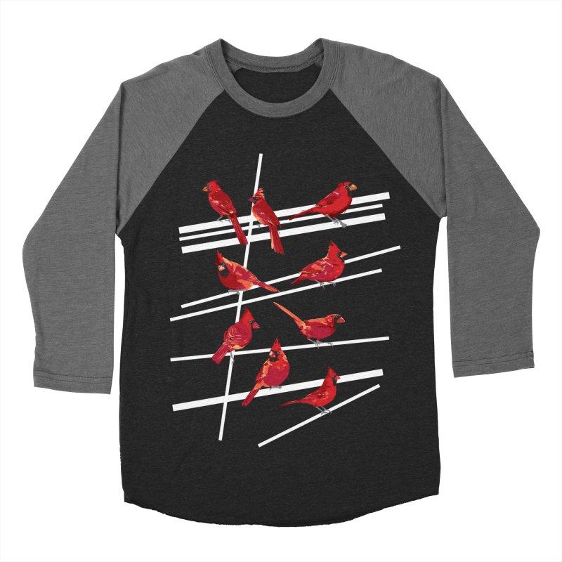 even more cardinals Women's Baseball Triblend Longsleeve T-Shirt by upso's Artist Shop
