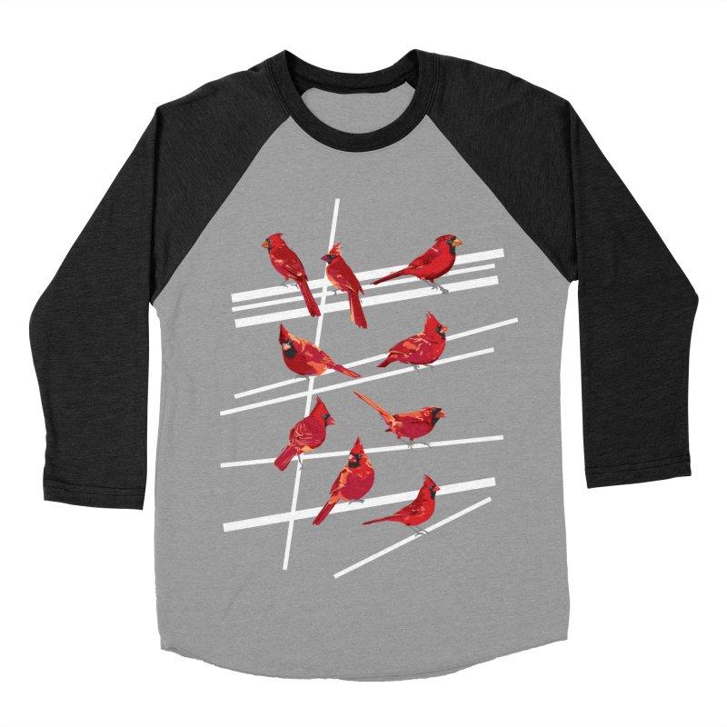 even more cardinals Men's Baseball Triblend Longsleeve T-Shirt by upso's Artist Shop