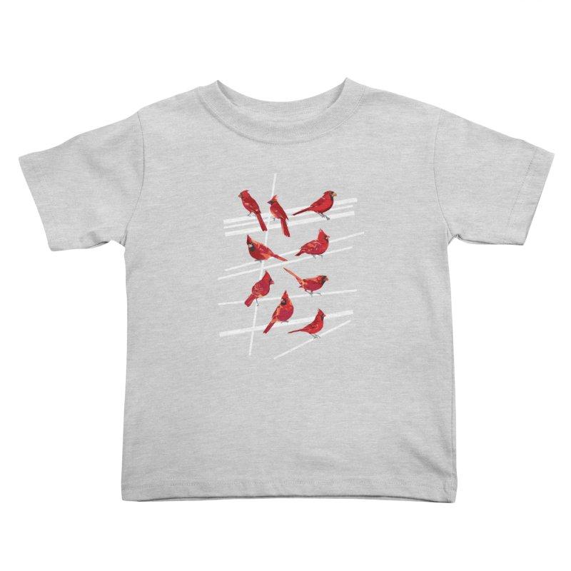 even more cardinals Kids Toddler T-Shirt by upso's Artist Shop
