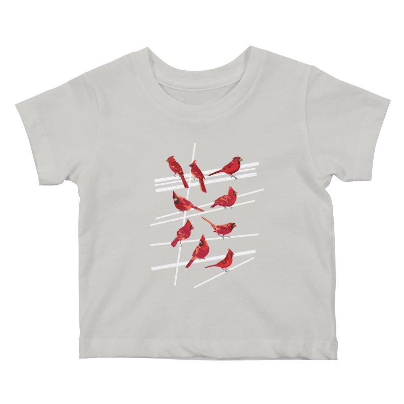 even more cardinals Kids Baby T-Shirt by upso's Artist Shop