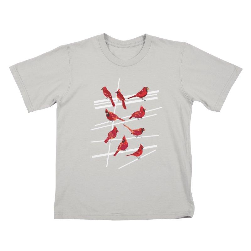 even more cardinals Kids T-shirt by upso's Artist Shop