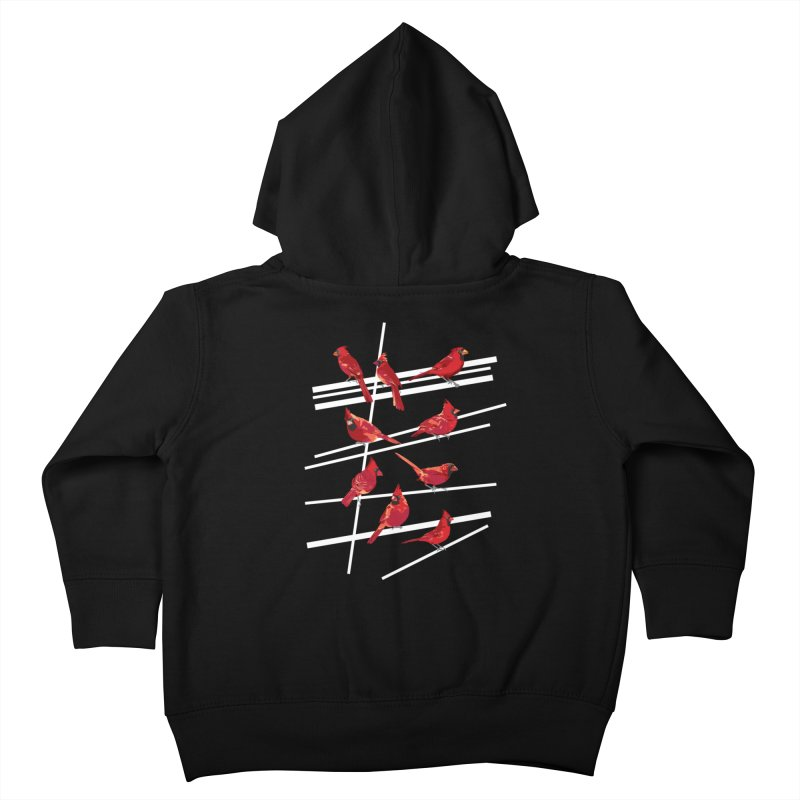 even more cardinals Kids Toddler Zip-Up Hoody by upso's Artist Shop