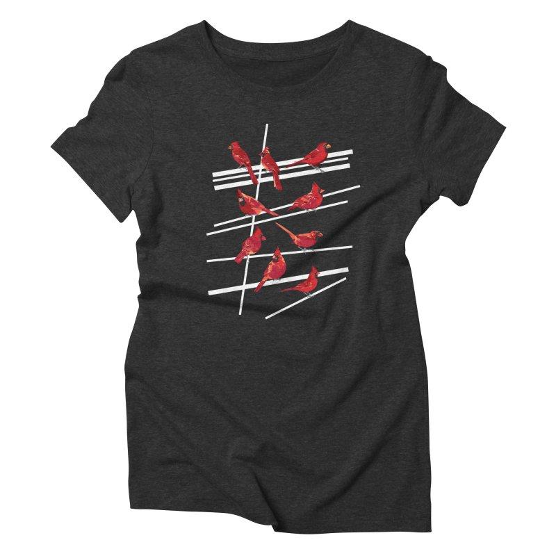 even more cardinals Women's Triblend T-Shirt by upso's Artist Shop
