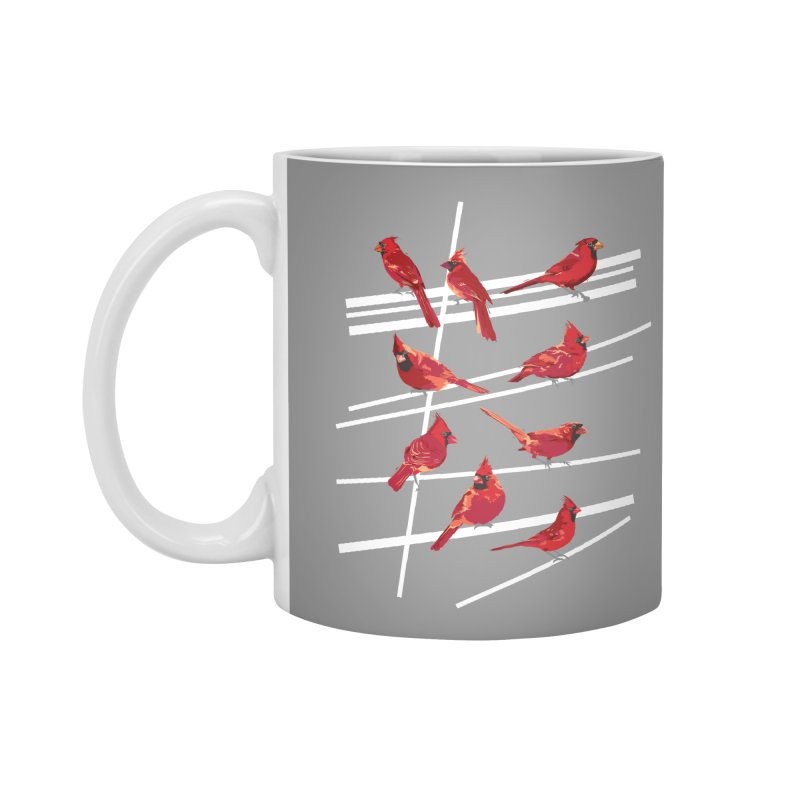 even more cardinals Accessories Mug by upso's Artist Shop