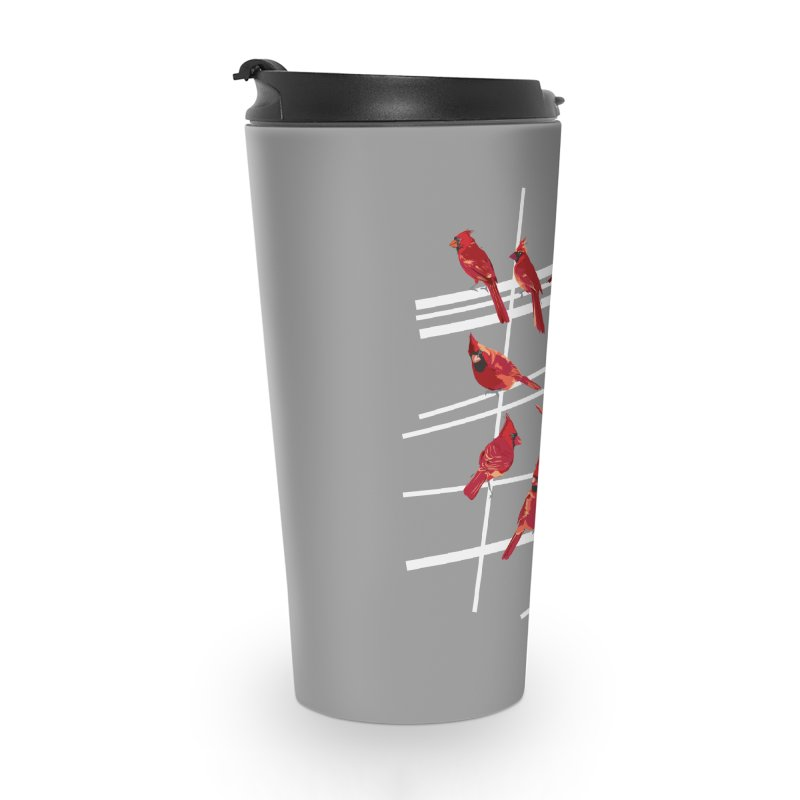 even more cardinals Accessories Travel Mug by upso's Artist Shop