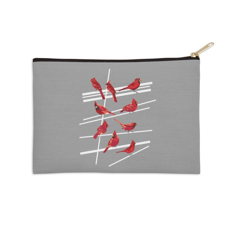 even more cardinals Accessories Zip Pouch by upso's Artist Shop