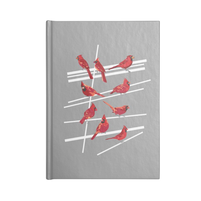 even more cardinals Accessories Lined Journal Notebook by upso's Artist Shop