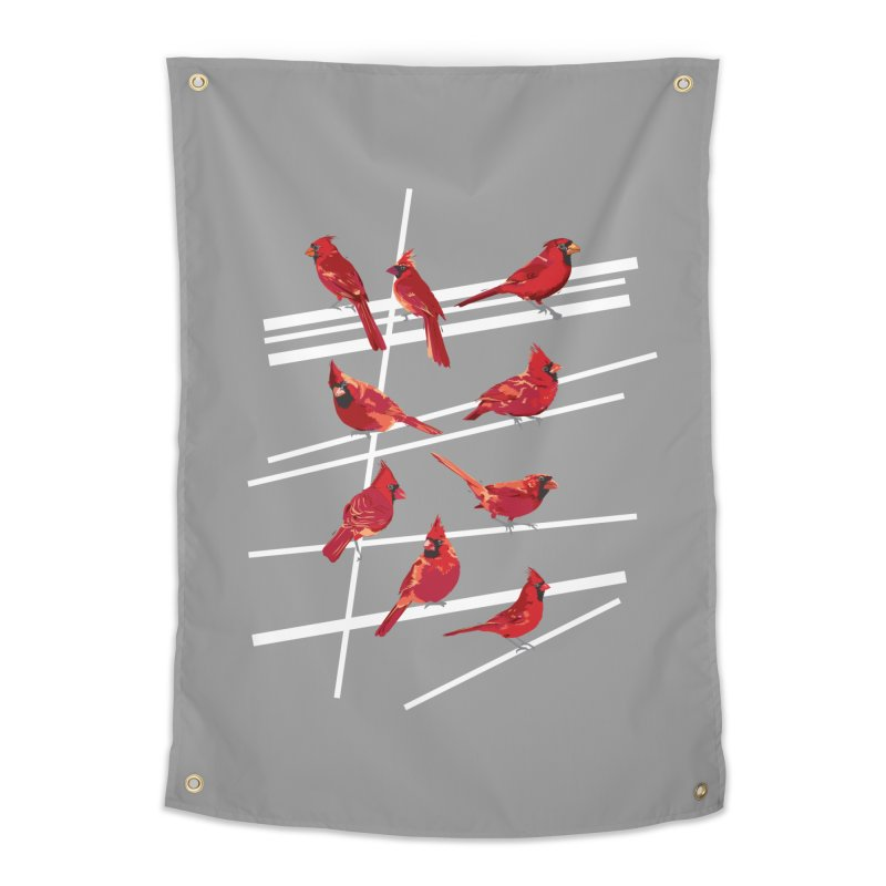 even more cardinals Home Tapestry by upso's Artist Shop
