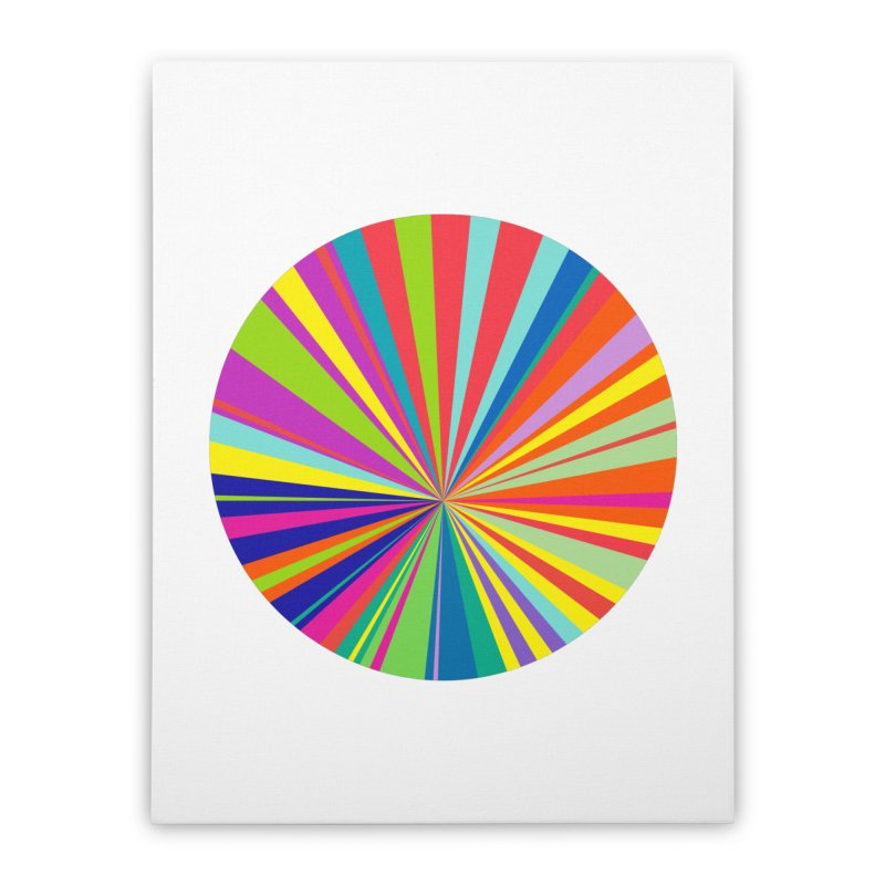 color wheel Home Stretched Canvas by upso's Artist Shop