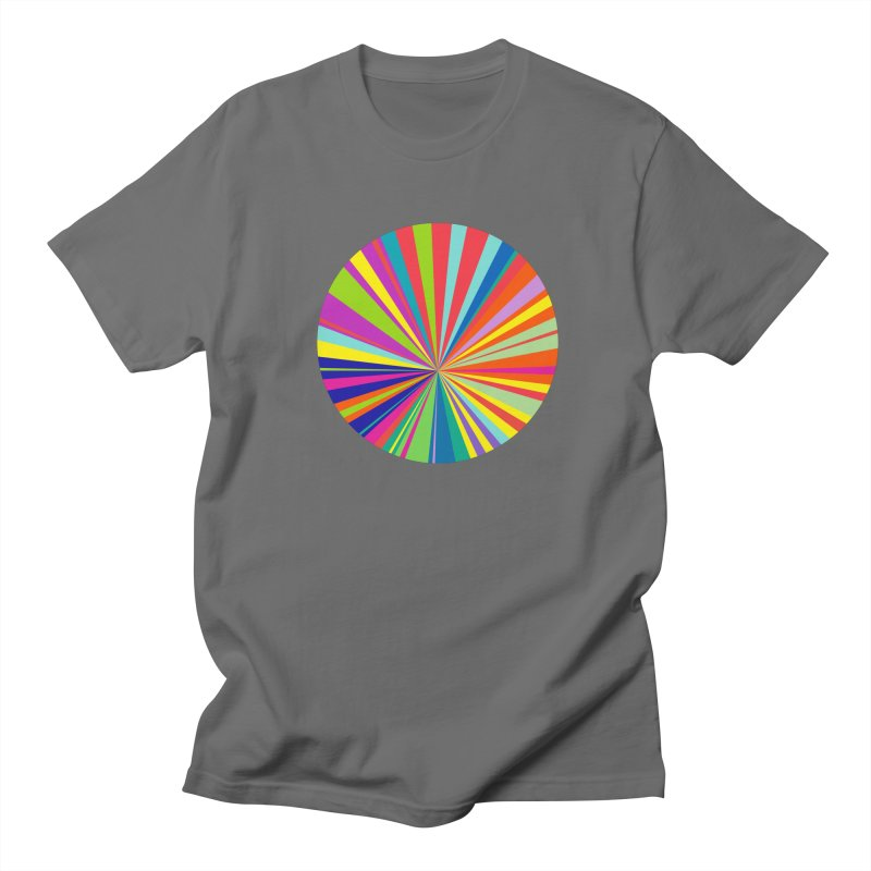 color wheel Men's Regular T-Shirt by upso's Artist Shop