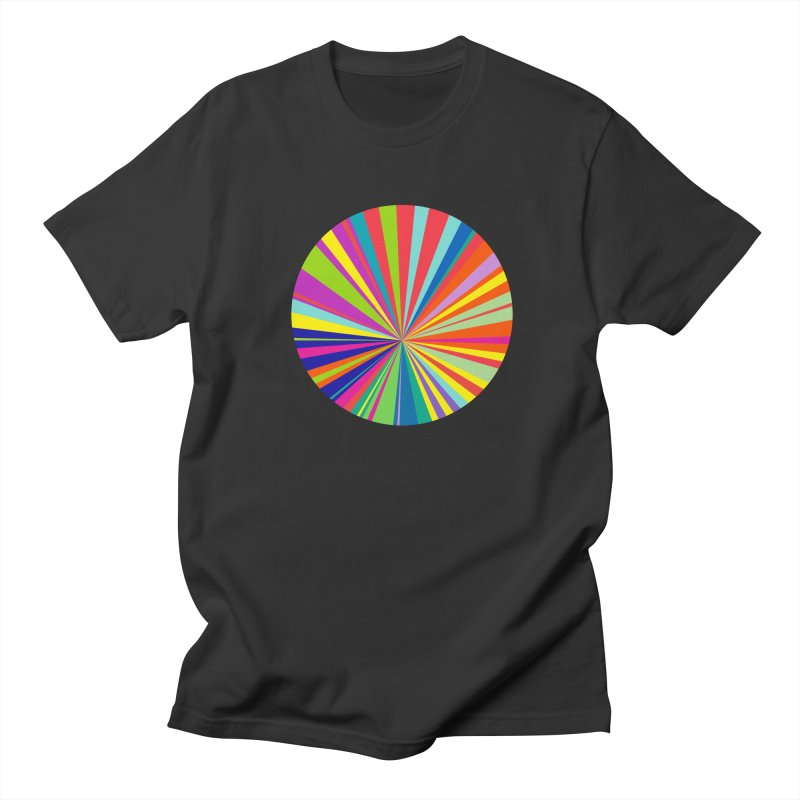 color wheel Men's T-shirt by upso's Artist Shop