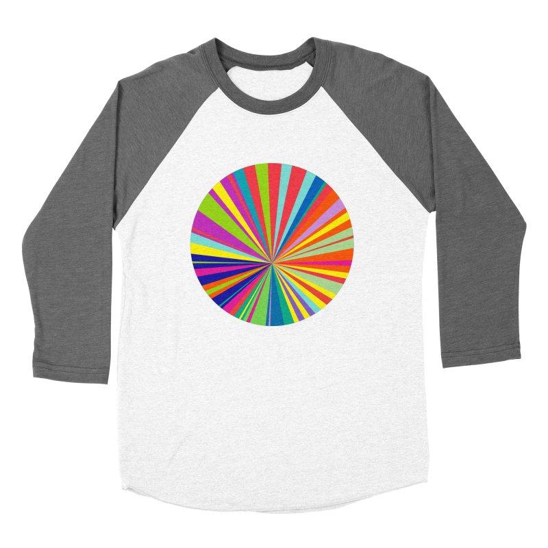 color wheel Women's Baseball Triblend Longsleeve T-Shirt by upso's Artist Shop