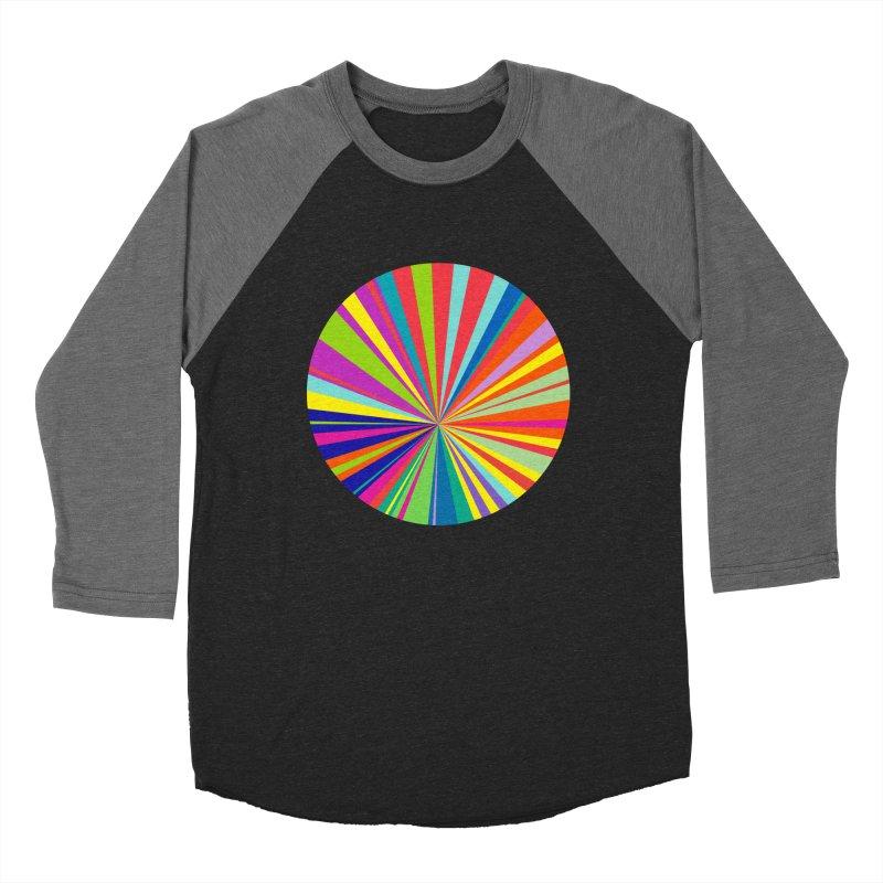 color wheel Women's Baseball Triblend T-Shirt by upso's Artist Shop