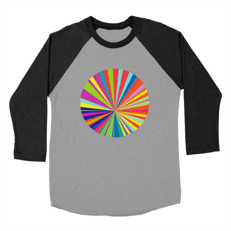 color wheel Women's Baseball Triblend T-Shirt by upso's Artist Shop